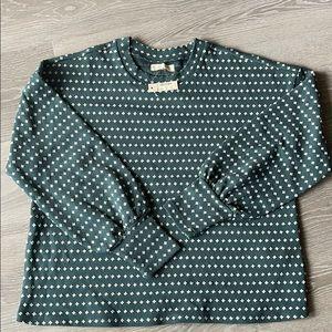Madewell French terry sweatshirt